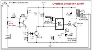 to watts pwm dc ac v power inverter overload png