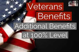 Additional 100 Disabled Veteran Benefits For Permanently