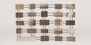 crate and barrel javier wood wall art on natural wood art wall decor with 12 wood wall art pieces in 2018 reviews of rustic wood wall decor