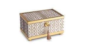 objet small gold fortuny tapa decorative box  luxdecocom