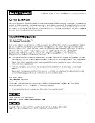 Sample Resume For Office Manager Resume Of Church Administrator