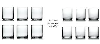 everyday glassware sets drinking glasses set of 6 best everyday glassware sets everyday glassware sets