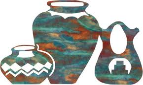 wedding vase pots design b 24 southwestern metallic wall decor  on southwestern metal wall art with wedding vase pots design b 24 southwestern metallic wall