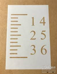 Diy Growth Chart Stencil Super Easy Diy Yardstick Growth Chart For Grandparents Day