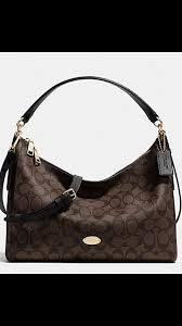 ... Coach F34899 Celeste Convertible Brown Hobo Signature C Handbag NWT 350 Coach  Logo Monogram Large ...