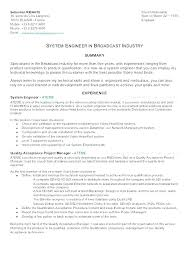 Senior Resume Examples Cool System Engineer Resume System Engineer Resume Example Examples Of