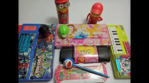 Spiderman pencil box V/s disney princess geometry box V/s micky geometry  and sharpner collection. - YouTube