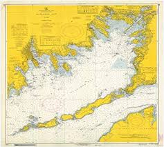 Nautical Chart Buzzards Bay Ma Amazon Com Vintography Gallery Wrap Art Canvas 18 X 24