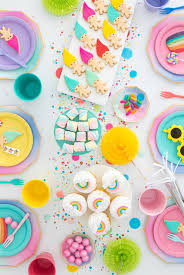 modern and colorful trolls party