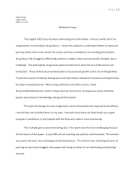 reflection essay on english course essay about what i have learned in my english writing class