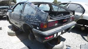 Junkyard Treasure: 1987 Honda Civic CRX Si | Autoweek