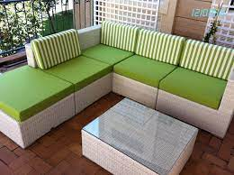types of outdoor patio cushions low