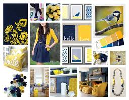 Say Hello To Navy And Yellow Art Gallery Fabrics The Creative