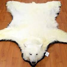 polar bear rugs polar bear rug for