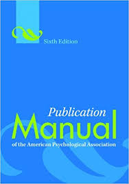 download apa format 6th edition free publication manual of the american psychological association sixth