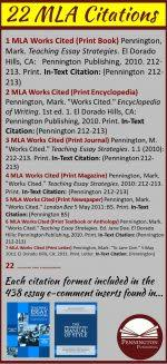 teaching mla format 22 mla citation formats pennington publishing blog