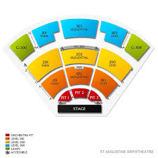 St Augustine Amphitheatre Tickets
