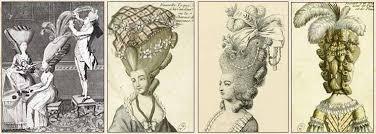 Дамские прически эпохи Рококо