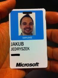 Hi I'm Jakub I And Microsoft Work For