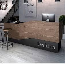 Retro cashier counter simple atmosphere clothing store bar company reception  desk Beauty Salon Corner counter