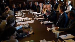 joe biden announces major new steps in his fight for better cancer vice president joe biden speaks during a meeting of the cancer moonshot task force in the