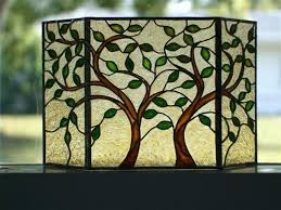 stained glass fireplace screen stained glass fireplace screen leaves trees free stained glass fireplace screen patterns