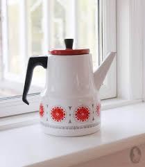 Vintage Koffiepot Van Emaille Jaren 70 Zaansch Faam Webshop