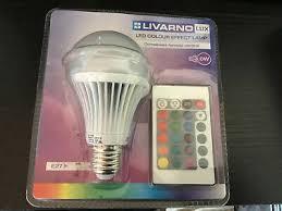 livarno lux e27 led colur changing bulb