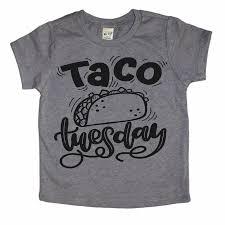Taco Tuesday Shirt Taco Shirt Taco Twosday Toddler