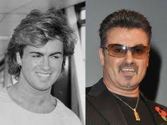 george michael then now. Fine Michael George Michael Celebrities Then And Now And Michael Now H