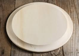 round wood charger plate 11 5in