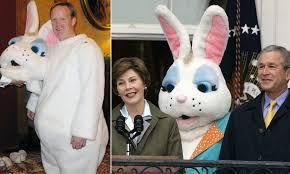 Sean Spicer Resume Sean Spicer As Easter Bunny During Bush Sr Administren Pics 76