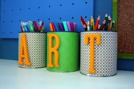 Colorful Pencil Holders.