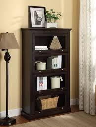 office bookcase with doors. Decoration Good Shelf Bookcase Cherry Black Wood Ideas Finish Skinny White Bookshelf Book Shelves With Doors Office A