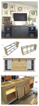 how to build sliding door console or buffet free plans by ana white com