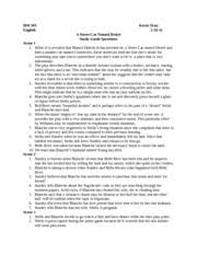 essay on streetcar d desire blanche and mitch blanche and 4 pages a street car d desire study guide questions