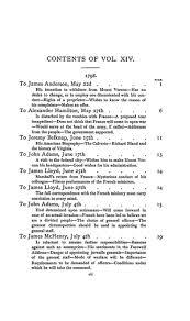 The Writings Of George Washington Vol Xiv 1798 1799