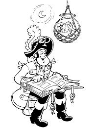 Kleurplaten Paradijs Kleurplaat Piet Piraat