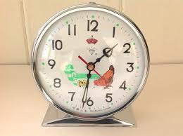 vintage children s animated hen en alarm clock diamond shanghai china boxed by bubbleandsqueak on