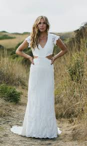 side cut outs wedding dress olsen by daughters of simone
