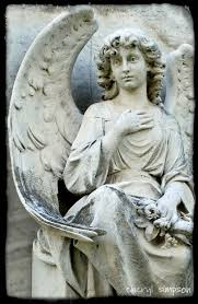 best stone angels images cemetery angels  sculptures in colma california