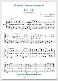 Fingerings included, arrangement by fabrizio ferrari with mp3 and midi files. Jingle Bells Music Theory Academy Free Piano Sheet Music Download