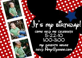 mickey mouse clubhouse birthday invitations card invitation mickey mouse birthday invitations custom