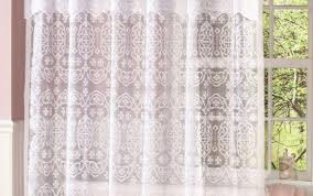 white curtains liner set bath long hookless sets extra threshold kohls marvellous weave beyond soft and
