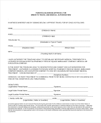 travel consent form for a child consent letter for children travelling abroad
