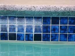 removing rust stains from anti slip swimming pool tiles in tucson pool tile cleaning and beed blasting