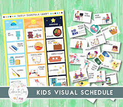 Discover learning games, guided lessons, and other interactive activities for children. Visual Schedule For Kids Chores And Activities Daily Routine Flowcart For