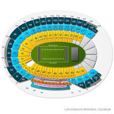 La Coliseum Seating Chart Soccer Los Angeles Memorial Coliseum Concert Tickets