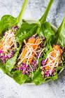 asian lettuce wraps vegetarian