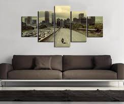 Wayfair's collection contains landscape wall decals, window stickers, window films, and chalkboard wall decal. The Walking Dead Landscape Canvas Prints Wall Art Decor Blueartdecor